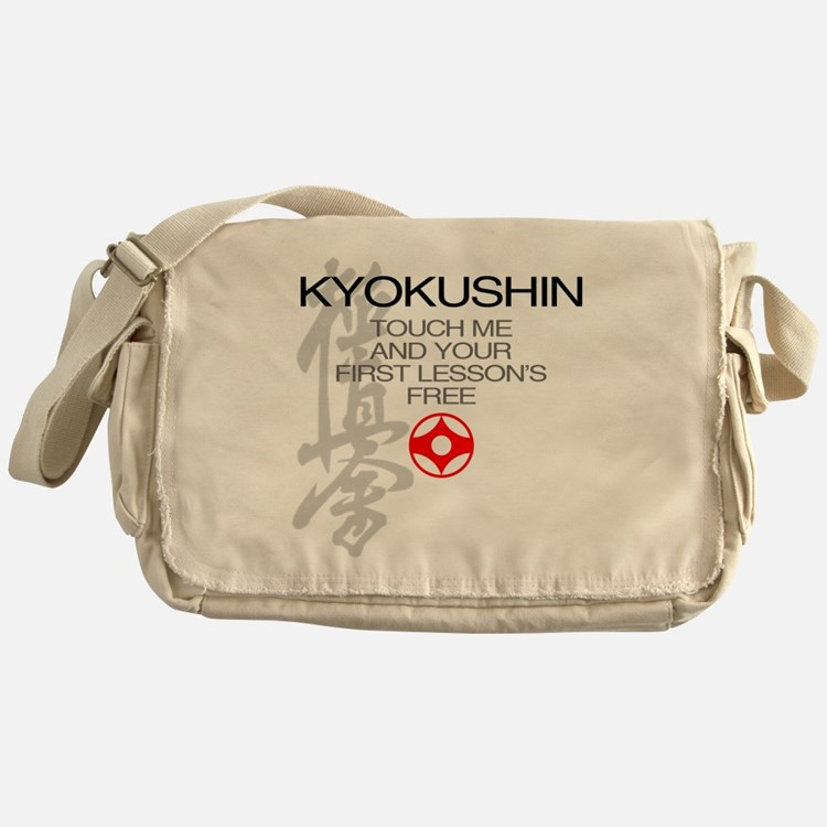 Kyokushin touch me, your first lesso Messenger Bag