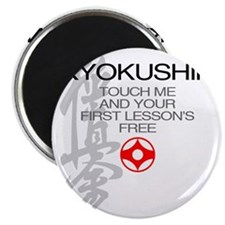 Kyokushin touch me, your first lessons free Magnet