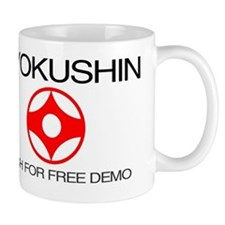 Kyokushin shirt - push for free demo Mug