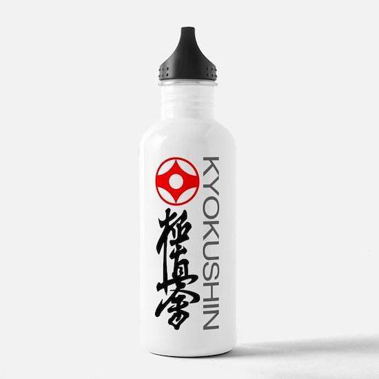Kyokushin karate teesh Water Bottle