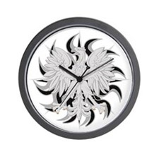 polisheaglesun Wall Clock