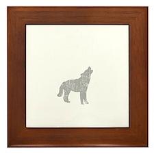 La Push Wolves -dk Framed Tile