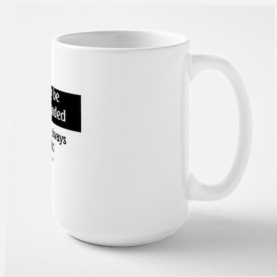 imaybelefthandeBUTTONS Large Mug