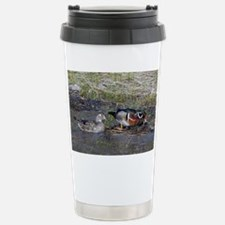 note card -front 2 Stainless Steel Travel Mug