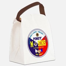 pmlogo Canvas Lunch Bag