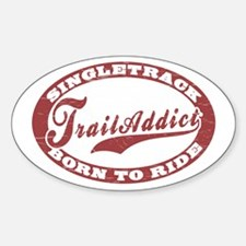 TrailAddict_BLWR Sticker (Oval)