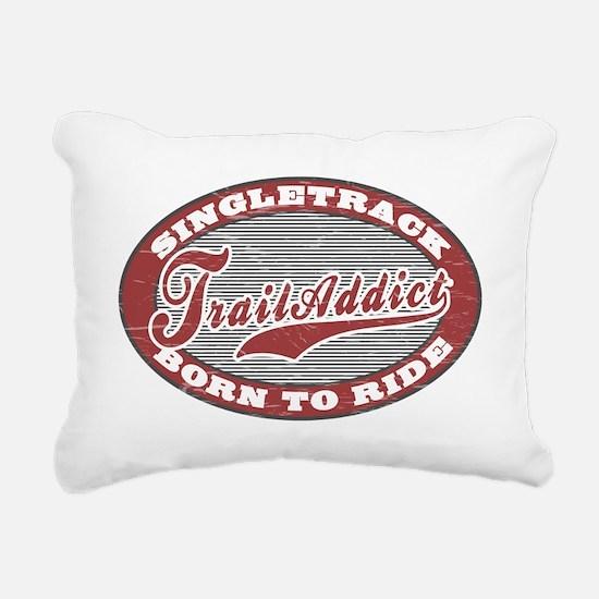 TrailAddict_BLGR Rectangular Canvas Pillow