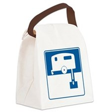 dumping-station Canvas Lunch Bag