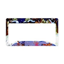 winterfun4 License Plate Holder