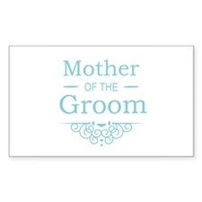 Mother of the Groom blue Decal