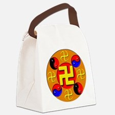 2FalunGong6x6 Canvas Lunch Bag