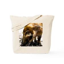 (2) Pig Profile  1966 Tote Bag
