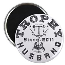 Trophy Husband 2011 Gray Magnet