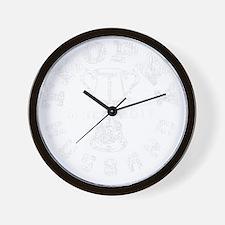 Trophy Husband 2011 black Wall Clock
