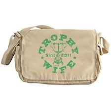 Trophy Wife 2011 green Messenger Bag