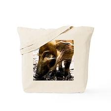 (12) Pig Profile  1966 Tote Bag