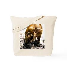 (15s) Pig Profile  1966 Tote Bag