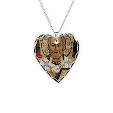 St Nicholas Necklace Heart Charm