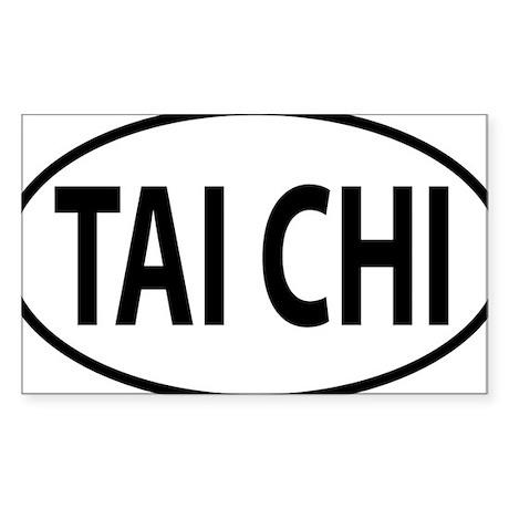 TAI CHI Sticker (Rectangle) by Admin_CP15766866