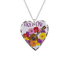 Uku Lei Me Necklace Heart Charm