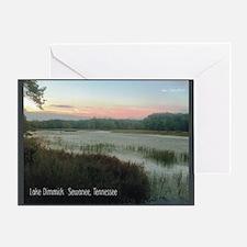 2010 pics for 2011 Lake Dimmick Greeting Card