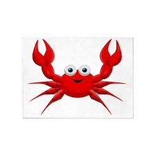 crab copy 5'x7'Area Rug