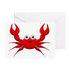 crab copy Greeting Card
