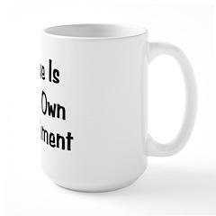 Virtue Is Its Own Punishmen Mug