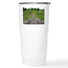 RR-End of the Line mousepad Travel Mug