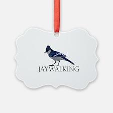 bluejay-LGTbkg Ornament