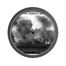 RR-BN Explosion  mousepad Wall Clock