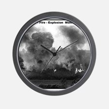 RR-BN Explosion  mousepad Wall Clock