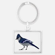 blue jay Landscape Keychain