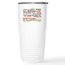 Shakespeare Plays Travel Mug
