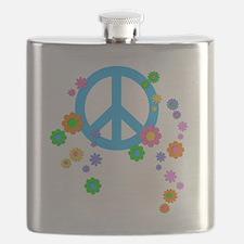 peace08-blk Flask