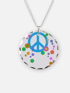 peace08-blk Necklace