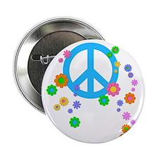 """peace08-blk 2.25"""" Button"""