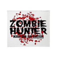 Zombie-Hunter Throw Blanket