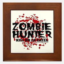 Zombie-Hunter Framed Tile