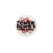 Zombie-Hunter Mini Button