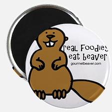 real foodies eat beaver copy Magnet