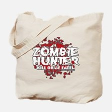 Zombie-Hunter-blk Tote Bag