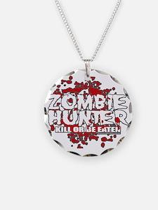 Zombie-Hunter-blk Necklace