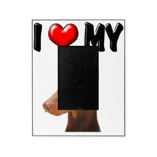 I Love My Doberman Picture Frame