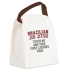 TouchMe-bjj Canvas Lunch Bag
