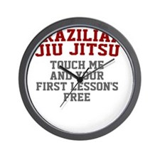 TouchMe-bjj Wall Clock