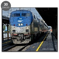 RR--AMTRAK - #150  Ottumwa, Iowa  2007 Puzzle