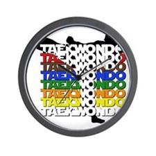 ColorsOfTKD Wall Clock