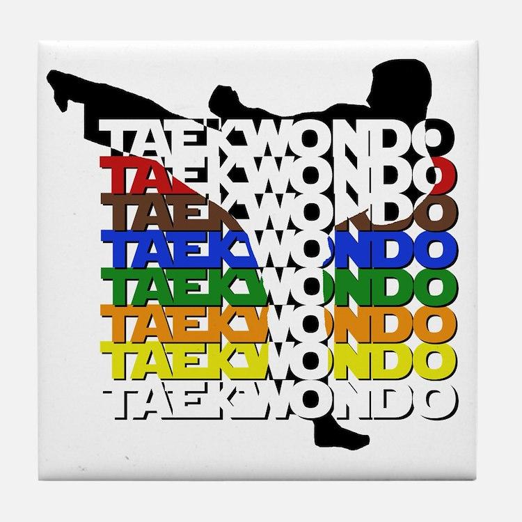 ColorsOfTKD Tile Coaster