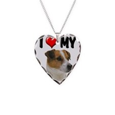 I Love My Jack Russell Necklace